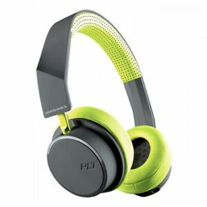 Plantronics BackBeat 500 Bluetooth Wireless Headset Headphones Grey/Green NEW
