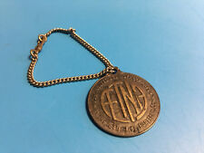 Vtg Aetna Life Insurance Identification Badge/Tag and Chain