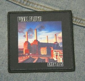 Pink Floyd Animals cover patch iron on denim  Official merchandise rock music