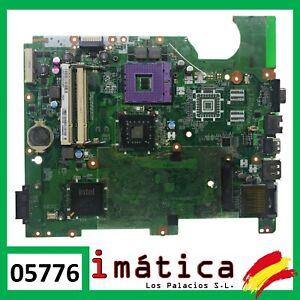 PLACA BASE PORTATIL HP COMPAQ PRESARIO CQ61 DA00P6MB6D0 MOTHERBOARD FAULTY