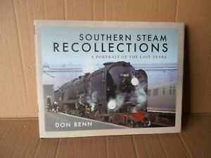 Southern Steam Recollections Railway Book Like New Condition