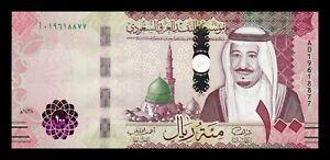 B-D-M Arabia Saudi 100 Riyals 2016 Pick 41a SC UNC