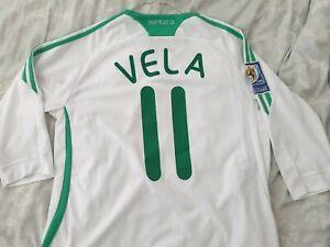 *Mexico Carlos Vela World Cup Jersey 3/4 Football Shirt Trikot Camiseta*