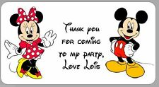 Thank You Mickey Mouse Party Bags