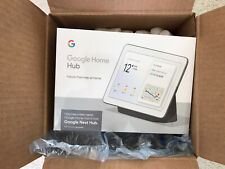 google home hub charcoal Brand New