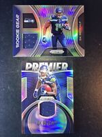 2019 Prizm Silver DK Metcalf Lot Rookie RC Patch Premier Jersey RC Gear Seahawks