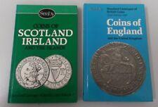 1987 Coins of England & The United Kingdon & Coins of Scotland Ireland Books