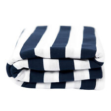 Lil Fraser Collection Cooper Baby Wrap Navy and White Cotton Swaddle