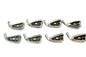 Lot of 8 ZEVO Irons Black Dot Nbr 3, 4, 5, 6, 7, 8, 9 and P Irons ~ Heads Only