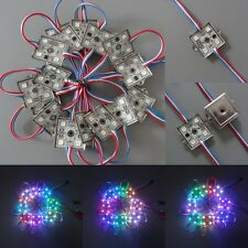 20x Square 3535 1903 Chip Full Color 4Led SMD Module Waterproof  Iron Shell 24V
