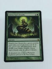 MTG 1 X Green Sun Zenith Magic: recopilación de The's casi nuevo y sin usar casi nuevo y sin usar/M sin jugar