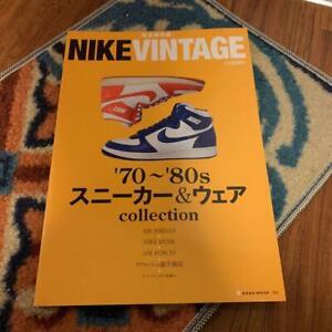 Nike Vintage '70 -'80 Sneaker & Wear Collection Japanese Book Airmax Air Jordan