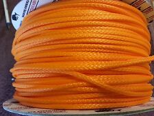 1/8 in, per-10 ft Neon Orange Endura 12, New England Ropes dyneema SK75 #1525-04