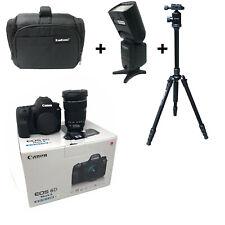NEW Canon 6D Mk II + 24-105 STM + Bag + Flash + Tripod - UK NEXT DAY DEL