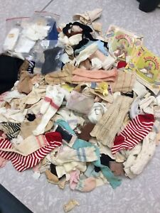 Huge! Antique Vintage Doll Sock Lot Tights Nylons French German Baby Toddler