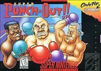 Super Punch-Out (Super Nintendo Entertainment System 1994) SNES GAME ONLY NES HQ