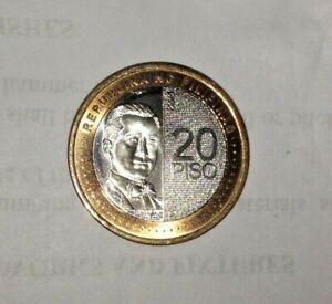 2019 20-Pesos Uncirculated coin