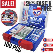 First Aid Kit Medical Car Travel Emergency Medicine Auto Home Outdoor Survival
