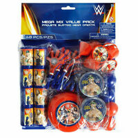 WWE WRESTLING PARTY SUPPLIES FAVOURS PACK 48 PC PINATA FILLER GENUINE LICENSED
