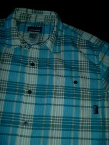 #9239 PATAGONIA S/S Shirt Size Large