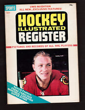 Hockey Illustrated Register 1965-66 NHL Guide Bobby Hull Roger Crozier