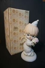 New ListingPrecious Moments 109584; Happiness Divine clown figurine 1987; In Original Box