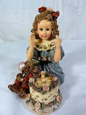 Boyds Bears Yesterday's Child - Rebecca W/ Elliot Birthday - Figurine In Box