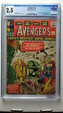 Avengers #1 CGC 2.5 Good+