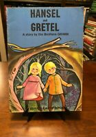 HANSEL AND GRETEL (A Giant Fairy Story) by Brothers Grimm (1967 - Illustrated)