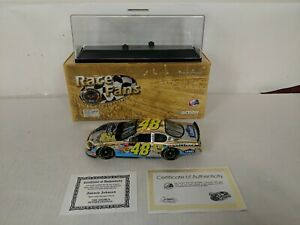 2003 Jimmie Johnson 48 Lowe's/Power of Pride AUTOGRAPHED 24 KT GOLD W/Case & COA