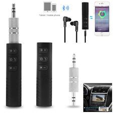 mini Wireless Bluetooth Car Kit AUX Audio Receiver Hands free 3.5mm Jack tool