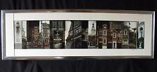 EASTON PENNSYLVANIA Mixed Media Collage/Shadow Box by Artist EARL DAVIS 1988 (A)