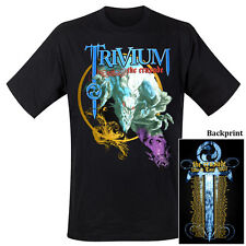 TRIVIUM - Nemesis Tour 2007 -T-Shirt - Größe Size L - Neu