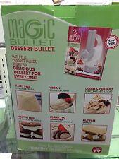 NutriBullet Dessert Bullet - Makes  Ice Cream Sorbets - Magic Bullet - NEW