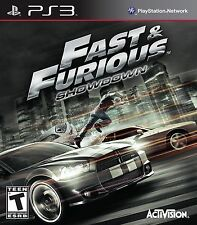 Fast & Furious: Showdown  (Sony Ps3, 2013) Fast and Furious New Factory Sealed