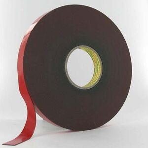 3M VHB 4611F 19mm Acrylic Automotive Double Sided Foam Adhesive Tape 1-20m