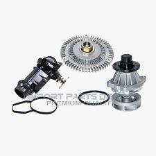 BMW Water Pump Fan Clutch Thermostat Assembly Kit Premium Quality 799/302/227