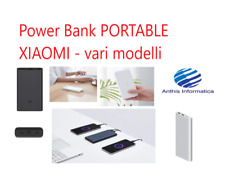 XIAOMI POWER BANK PORTABLE per SMARTPHONE IPHONE