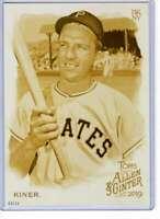 Ralph Kiner 2019 Allen and Ginter 5x7 Gold #88 /10 Pirates