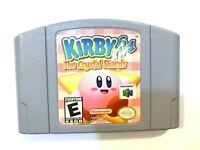 Kirby 64: The Crystal Shards NINTENDO 64 N64 Game Tested + Working & AUTHENTIC!