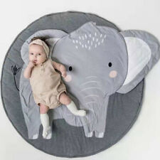 Elephant Kids Rug Baby Room Childrens Floor Area Mat Cotton Baby Crawling Carpet