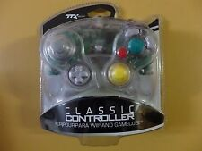 TTX TECH NINTENDO WII And GameCube Clear Controller