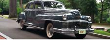 1946 1947 1948 DeSoto Weatherstrip Kit, Complete for 4 Door Sedan