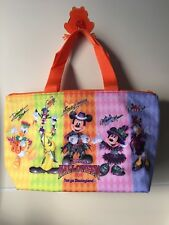 Japan Tokyo Disneyland Halloween 2016 Mickey Minnie Donald Daisy Lunch Bag Case