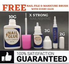 EXTRA STRONG NAIL GLUE 💅 PROFESSIONAL QUALITY 💅 Art Tips Acrylic💅 2G 3G 10G