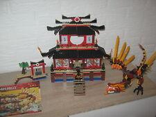LEGO NINJAGO Ninja Feuertempel (2507) ohne Figuren