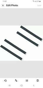 """2 Pair 1"""" Hoverboard Kart Accessories HoverKart Replacement Straps Adjustable SM"""