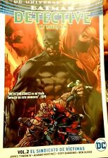 DC COMIC MEXICO BATMAN DETECTIVE VOL 2 EL SINDICATO DE VICTIMAS ESPAÑOL SPANISH
