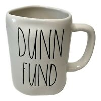 "Rae Dunn ""Dunn Fund"" Mug Artisan Collection by Magenta Farmhouse NWOT"