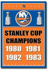 "New York Islanders Stanley Cup Champions NHL Fridge Magnet Size 2.5"" x 3.5"""